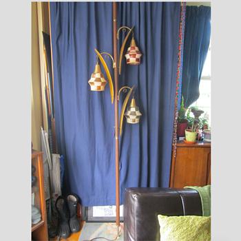 Mystery Lamp - MCM Danish? - Lamps