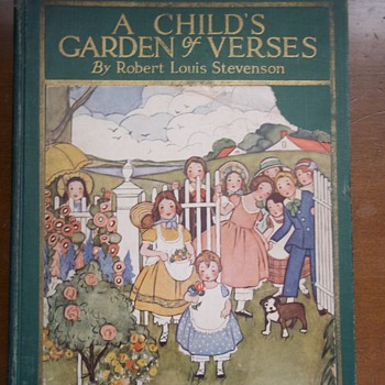 A Child's Garden of Verses 1926 - Books
