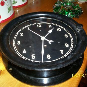 Our backwards clock
