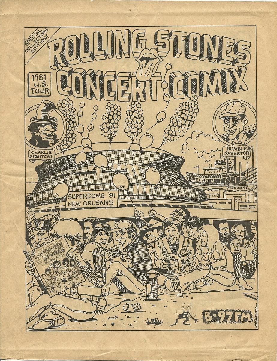 Rolling Stones Concert Comix 1981