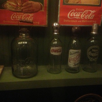 pictures of a coke collection  - Coca-Cola