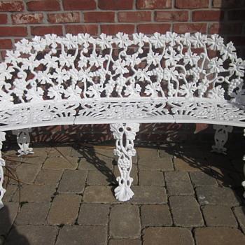 Cast Iron Garden Bench - Furniture