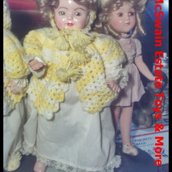 1920's Vanity Flossie Flirt  and Nancy Lee Dolls