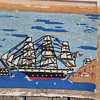 Vintage Antique? primative Needle Work ? Sailor Woolie ?