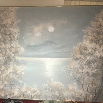 Possible rare Lee Reynolds painting