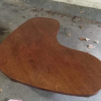 Boomerang Coffee Table Kagan Nakashima Pearsall style - Mid-Century Modern