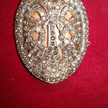 silver and rhinestone clip? - Fine Jewelry