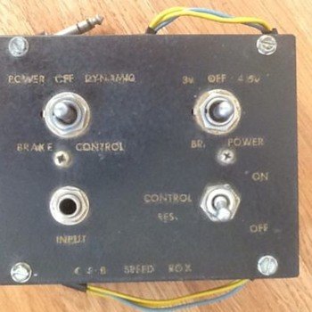 power speedbox control ????? - Electronics