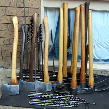 Picks -Mattocks-Axes-Augers-Auger Bits. - Tools and Hardware