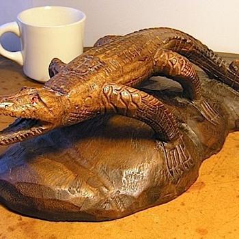 Gator Carving - Folk Art