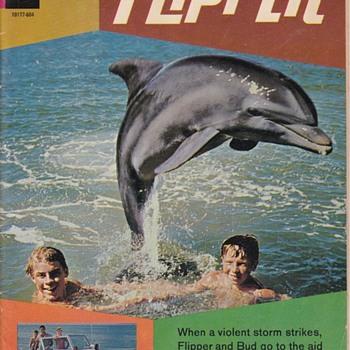 flipper Gold Key Comic Book 1966