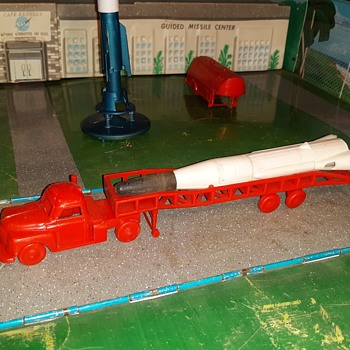 Marx Cape Kennedy Rocket Transporter and Launcher 1960s - Toys