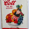 Cott Soda Sign