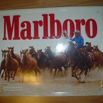 Marlboro Tin Sign - Signs