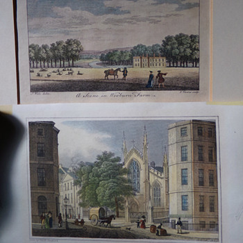Coloured Engravings: Pre-1830??