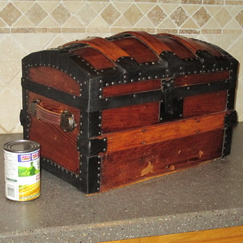 Toy Trunk - Full Size Slats and Hardware - Furniture