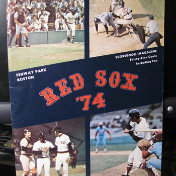 Boston Red Sox Memorabilia | Collectors Weekly