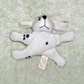Plush Dalmatian Fridge Magnet - Toys