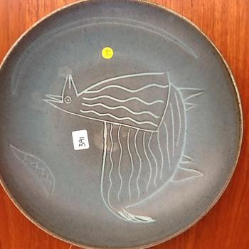 Studio bowl Scandinavian style. - Mid-Century Modern