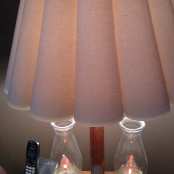 A lamp I bought I just love it .Have a pair