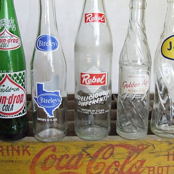 A Few More ACL Soda Bottles - Bottles