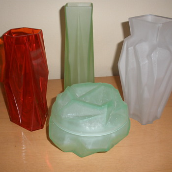 Art Deco Kopp Glass - Art Deco
