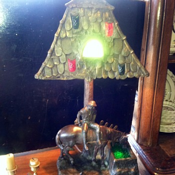 Weird and wonderful lamp  - Lamps