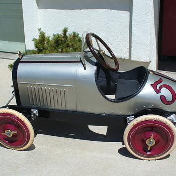 Duesenberg pedal race car.