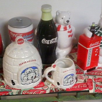 Coca Cola Cookie Jars! - Coca-Cola