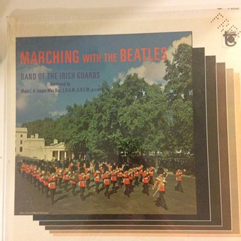 Marching with the Beatles; Band of The Irish Guards - Records