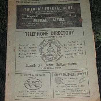 The Norfolk & Carolina Telephone & Telegraph Co. - Telephones