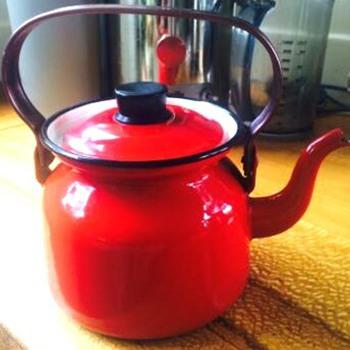 finel finland enamel kettle - Kitchen
