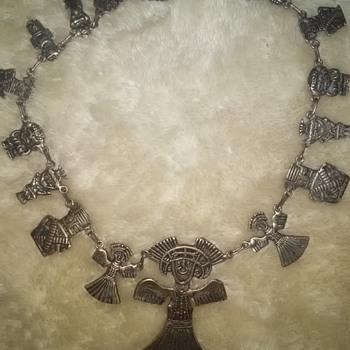 antique silver necklace?