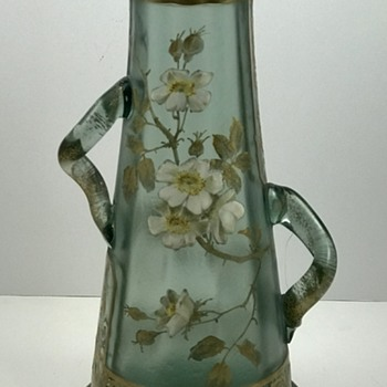 Art Nouveau Glass vase made by Harrach for Legras/St Denis, ca. 1900 - Art Glass