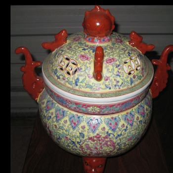 Large oriental floor ornament - Asian