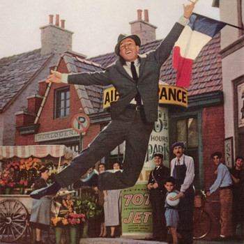 1960 - Gene Kelly for Air France - Advertisement - Advertising