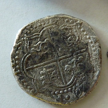 Ancient Spanish Coin maybe doubloon  - World Coins