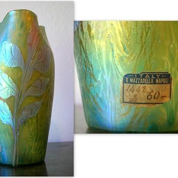 Loetz Phänomen Genre 3/461 label research results so far... - Art Glass