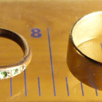 Archeology: Two Golden rings - Fine Jewelry