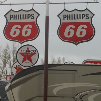 Largest Pole Sign Collection in the World - Signs