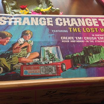 1960's Strange Change Creature toy by Mattel - Toys