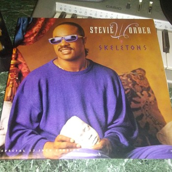 Special Edition Extended Play...Mr. Stevie Wonder On 33 1/3 RPM Vinyl - Records