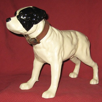 Cast Iron English Staffordshire Terrier Doorstop