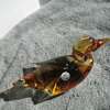 Canadian art glass duck