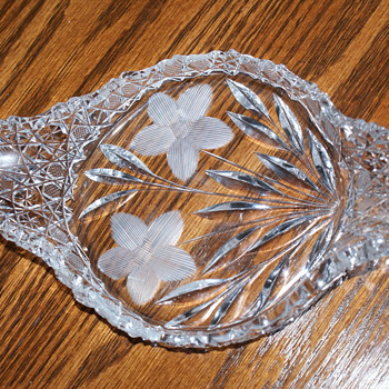 American Brilliant Cut Crystal Dish? - Glassware
