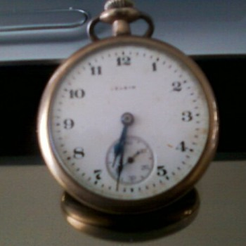 Elgin vintage pocket watch - Pocket Watches