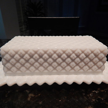 Westmoreland butter dish