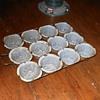 Unusual Gray Graniteware Muffin Tray