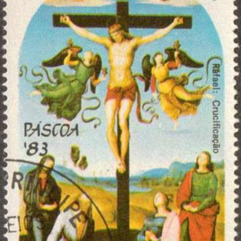 "St. Thomas & Prince Islds. - ""Easter"" Postage Stamps - Stamps"