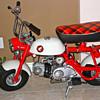 1967 Honda Z50m English Model